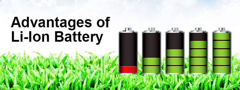Articles: Advantages of Li-Ion Battery