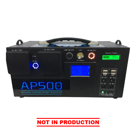 ARIGO Power AP500 Front View - Not in Production