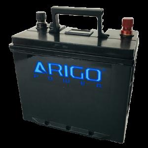 ARIGO Power LIFEPO4 DC Black Side Front View