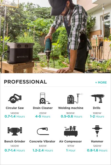 EcoFlow DELTA for Professional