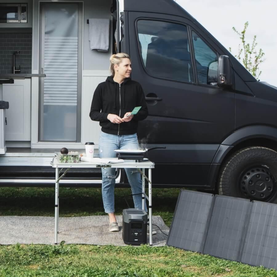 EcoFlow DELTA Universal Solar Input