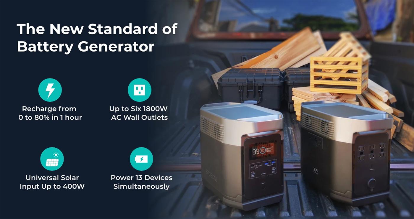 EcoFlow DELTA Power Generator