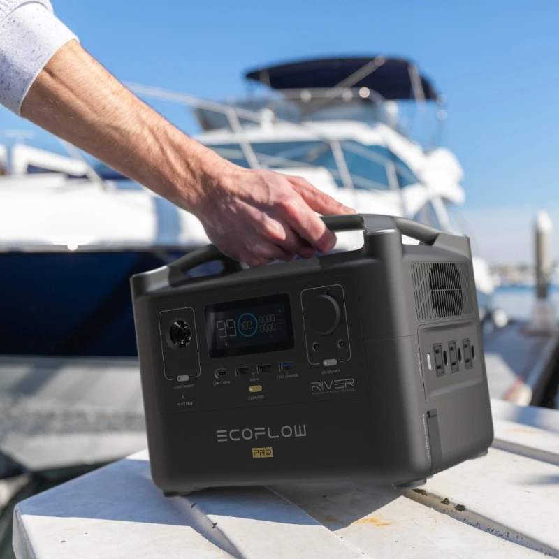 EcoFlow RIVER Pro Compact & Portable